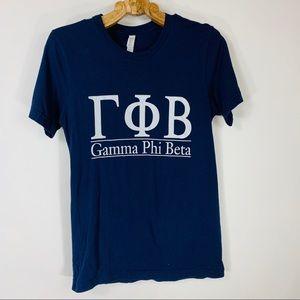 GPHI Navy Blue Graphic T Shirt Small